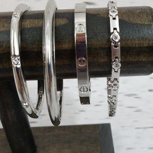 BRACELET Bundle Stainless Steel and Crystal